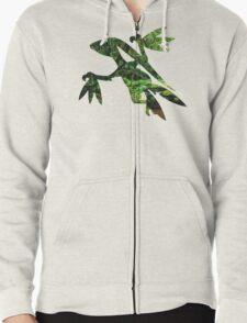 Grovyle used Leaf Blade Zipped Hoodie