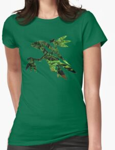 Grovyle used Leaf Blade Womens Fitted T-Shirt