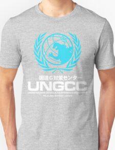 UNGCC GODZILLA VS MECHAGODZILLA Japanese Movie United Nations Godzilla Countermeasures Center JXSDF Unisex T-Shirt