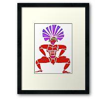 Dance Warrior X  Big Chief Twerking Framed Print