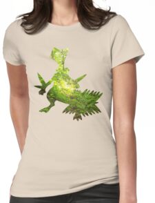 Sceptile used Leaf Storm Womens Fitted T-Shirt