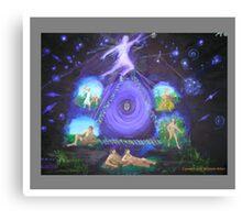 Cosmic Evolution Canvas Print
