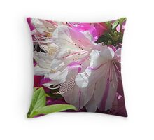 Mom's Azalea .. Throw Pillow
