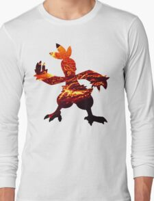 Combusken used Fire Spin Long Sleeve T-Shirt