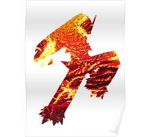 Blaziken used Blaze Kick Poster