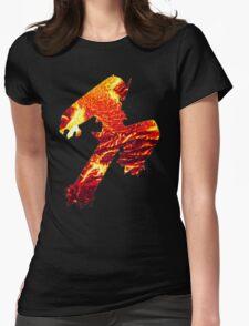 Blaziken used Blaze Kick Womens Fitted T-Shirt