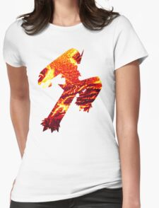 Blaziken used Blaze Kick Womens Fitted T-Shirt