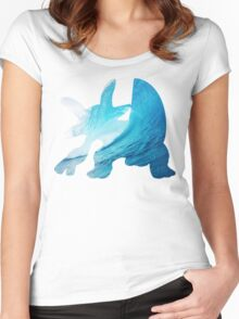 Swampert used Muddy Water Women's Fitted Scoop T-Shirt