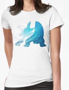 Swampert used Muddy Water Womens Fitted T-Shirt