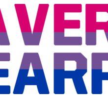 Waverly Earp bisexual pride Sticker