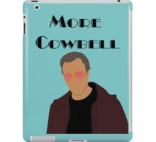 SNL Christopher Walken More Cowbell Sketch iPad Case/Skin