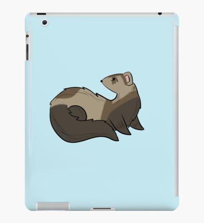 Curious Ferret iPad Case/Skin
