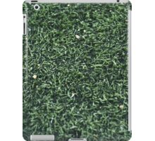 GREEN GRASS TEXTURE PHOTOGRAPHY iPad Case/Skin