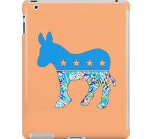 Preppy Democrat v6 iPad Case/Skin