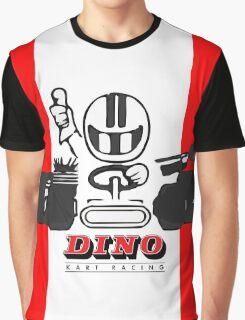 Vintage Kart Dino Graphic T-Shirt