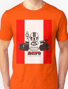 Vintage Kart Dino Unisex T-Shirt