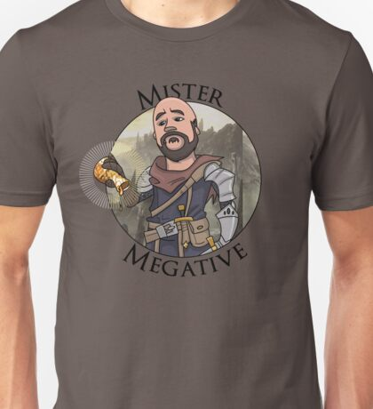 Mister Megative Unisex T-Shirt