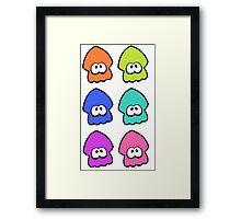 Six Inklings! Framed Print