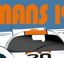 Le Mans 1970 Porsche 917 Sticker