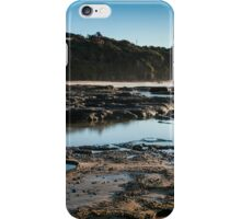 Norah heads early morning, lighthouse iPhone Case/Skin