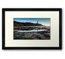 Norah heads early morning, lighthouse Framed Print