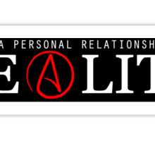 Personal Relationship With Reality  Sticker