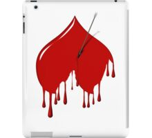 Unvalentine Upside Down Heart & Arrow   iPad Case/Skin