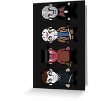 Horror Movie -  Serial Killers - Cloud Nine Greeting Card