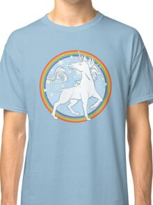 Sparkle Rainbow Unicorn Classic T-Shirt