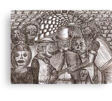 Underworld contract Canvas Print