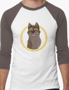 Not a Dog, Not a Wolf Men's Baseball ¾ T-Shirt