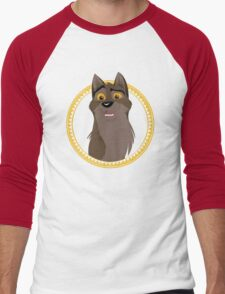 Not a Dog, Not a Wolf Men's Baseball ¾ T-Shirt
