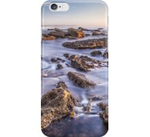 Norah heads early morning, rocks iPhone Case/Skin