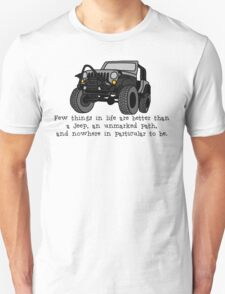 Jeep, Unmarked Path T-Shirt