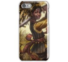 78 Tarot: Page of Swords iPhone Case/Skin