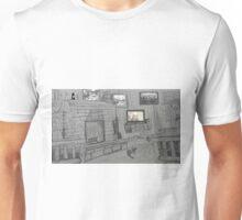 Leaf On A Mantel Unisex T-Shirt