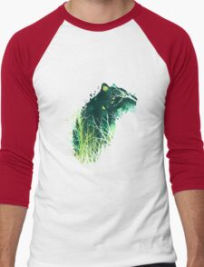 Space Tiger Men's Baseball ¾ T-Shirt