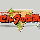 The Legend of Zelda Logo Japanese by Studio Momo╰༼ ಠ益ಠ ༽