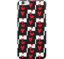 Queen Of Hearts Check Mate iPhone Case/Skin