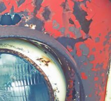 Rusty Car Sticker