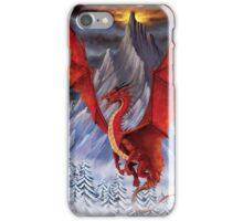 EVIL RED DRAGON iPhone Case/Skin