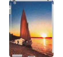 Nile Sunset - Egyptian Day Ends iPad Case/Skin