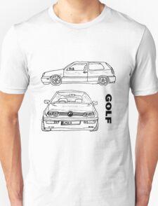 VW Golf Mk 3 (3 of 5) Unisex T-Shirt