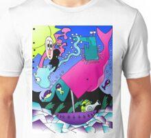 Random Cartoon Vector Art Unisex T-Shirt