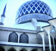 The Shah Alam Mosque by CATEncode