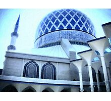 The Shah Alam Mosque Photographic Print