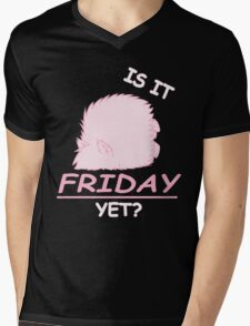 Fluffle Puff - Is It Friday Yet? Mens V-Neck T-Shirt