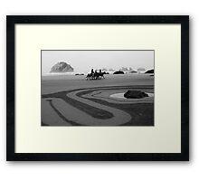 The horse ride  Framed Print