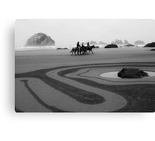 The horse ride  Canvas Print