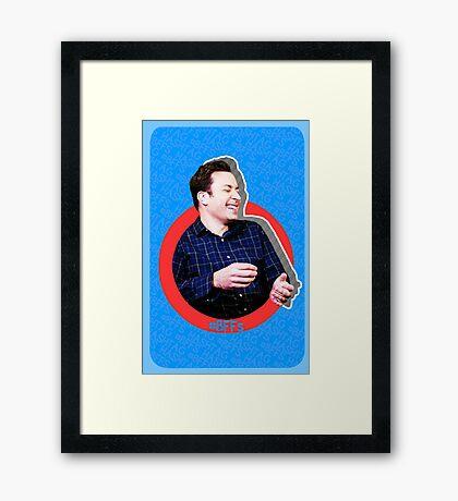Hashtag BFFs (Jimmy) Framed Print